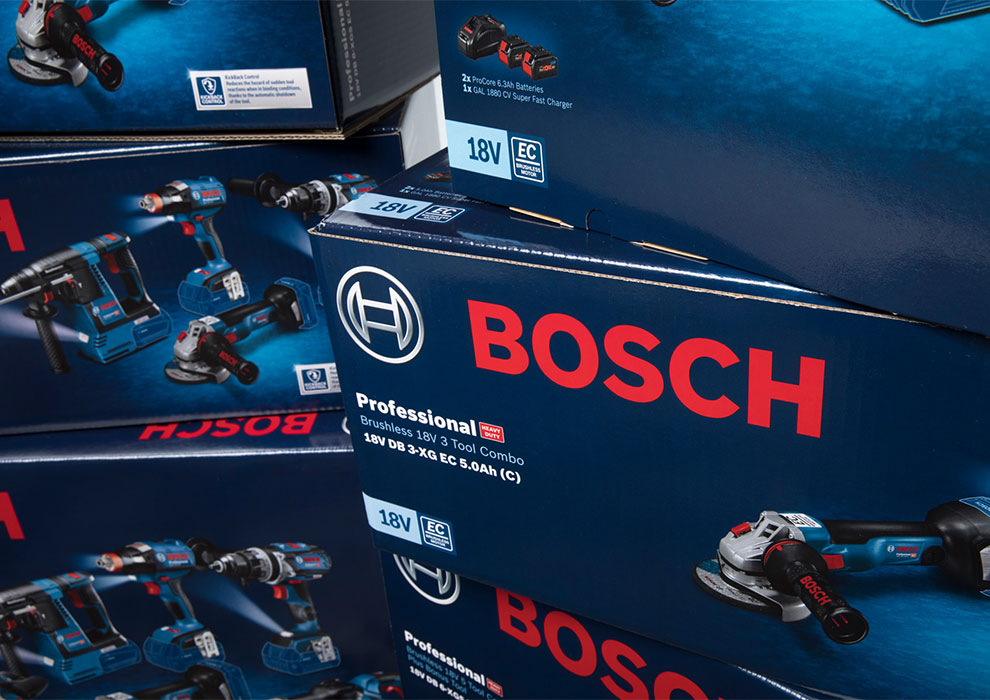 Bosch Power Tools Packaging