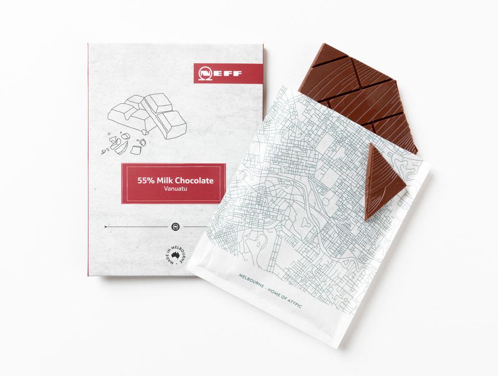 NEFF Chocolate Packaging